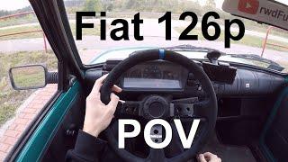 Fiat 126p Maluch - POV Test Drive - GoPro Hero 5 BLACK