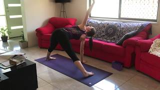 Into Body yoga flow - with Jessica Leigh Yoga (under 30mins)