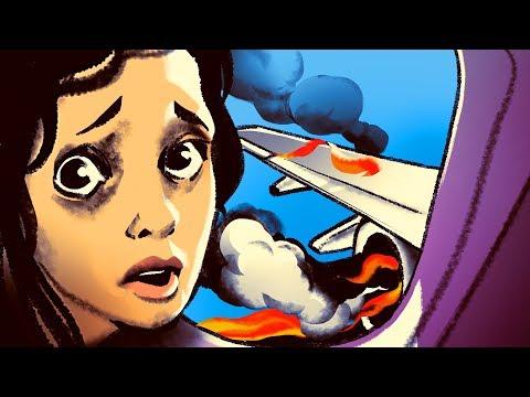 Самолет загорелся в воздухе, но пилотам чудом удалось спасти 350 жизней