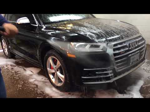 Audi SQ5 Ceramic Car Coating & High End Auto Detailing in Toronto, ON