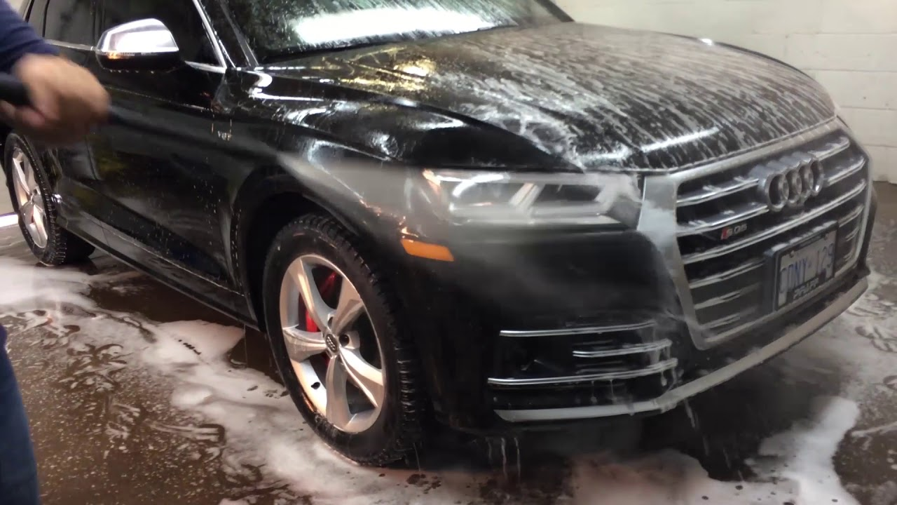 audi sq5 ceramic car coating high end auto detailing in toronto on youtube. Black Bedroom Furniture Sets. Home Design Ideas