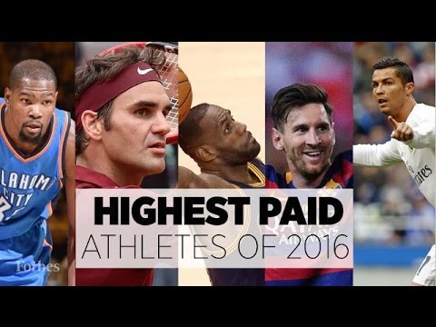 FORBES' LIST OF WORLD'S HIGHEST PAID ATHLETES 2016 | ASA DREAM WORLD