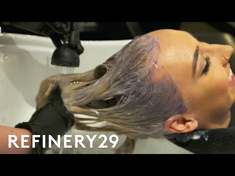 The Pink Hair Transformation We're Obsessed With | Hair Me Out | Refinery29 from YouTube · Duration:  3 minutes 31 seconds