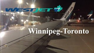 Video Westjet 737-700 night landing in Toronto. YWG-YYZ download MP3, 3GP, MP4, WEBM, AVI, FLV Juli 2018