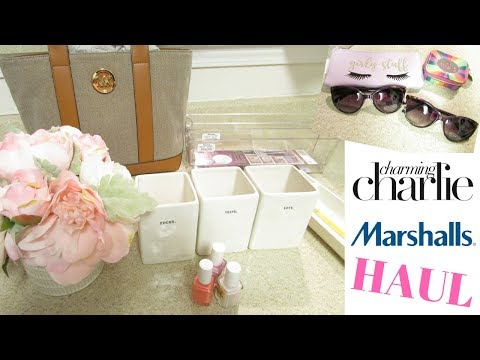 Marshalls & Charming Charlie Haul