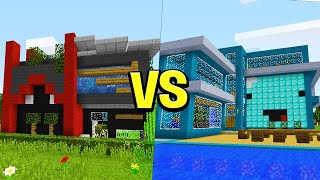 Skeppy vs BadBoyHalo MILLIONAIRE House Battle! - Minecraft