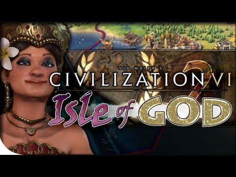 Indonesia Calls Out Sparta | Civilization VI — Isle of God 2 | Island Plates King
