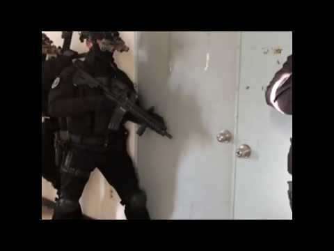 Korean National Police Special Operations Unit (KNP-SOU) Counter-Terrorism Drill