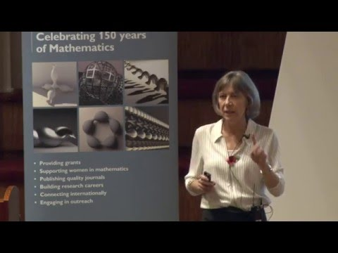 Dr Joan Lasenby - The mathematics of processing digital imag
