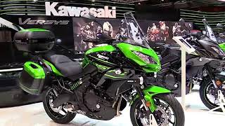 2018 Kawasaki Versys 650 Milan Complete Accs Series Lookaround Le Moto Around The World