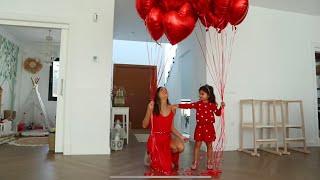 Celebramos SAN VALENTÍN en FAMILIA en nuestra NUEVA CASA🏠❤️ +un DÍA de LOCOS |VLOG |Familia Coquetes
