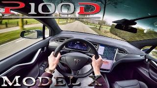 Tesla Model X 2017 P100D 760 HP POV Test Drive by AutoTopNL