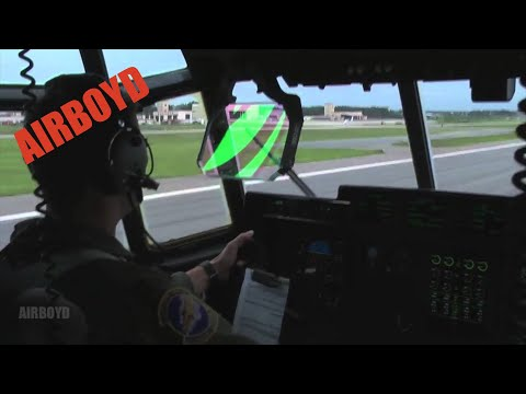 C-130 Shuts Down #3 Engine During Training Exercise