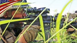 韓国に前方展開中のアメリカ海兵隊の戦闘訓練