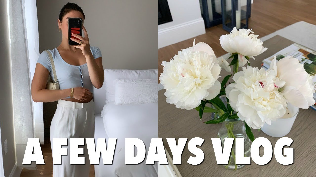 VLOG: a few days in boston + beauty / brandy melville haul