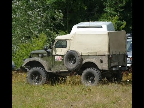 ГАЗ-69 V8 на вояках с механикой от ГАЗ-66 и ЛуАЗ на 29 колесах