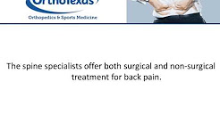 Back Pain Treatment In Frisco, TX