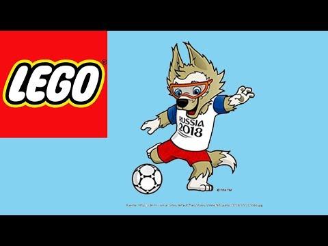 How To Build Lego 2018 Fifa World Cup Mascot Zabivaka