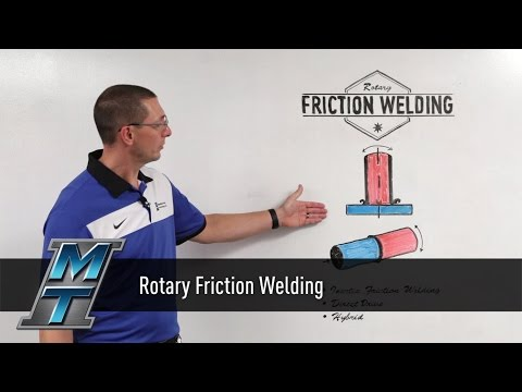 MTI Whiteboard Wednesdays: Rotary Friction Welding