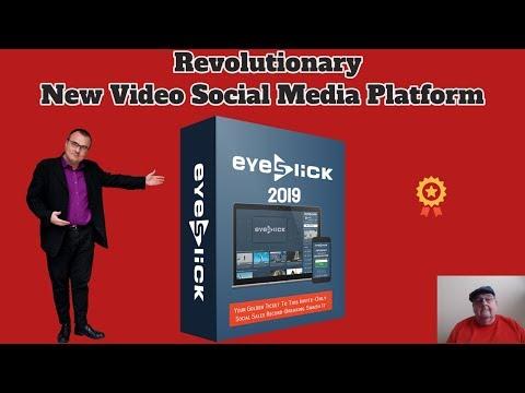 EyeSlick Revolutionary New Video Social Media Platform For 2019. http://bit.ly/30sbQqM