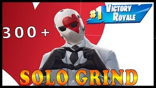 "New ""WILDCARD"" SKIN in FORTNITE - SOLO GRIND 