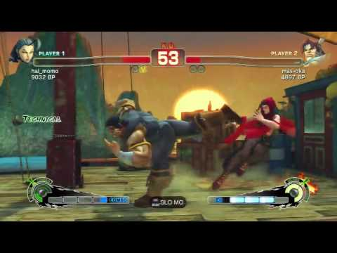 SSF4 Rose (hal_momo) vs T Hawk (mas-oka)