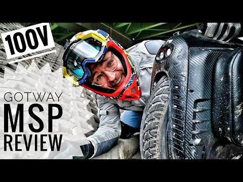 GotWay MSuper PRO (MSP) FULL REVIEW - 40* CLIMBS, Stairsets Of DOOM & More On ONE WHEEL!!!