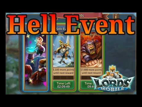 Lords Mobile Hell Event Tips