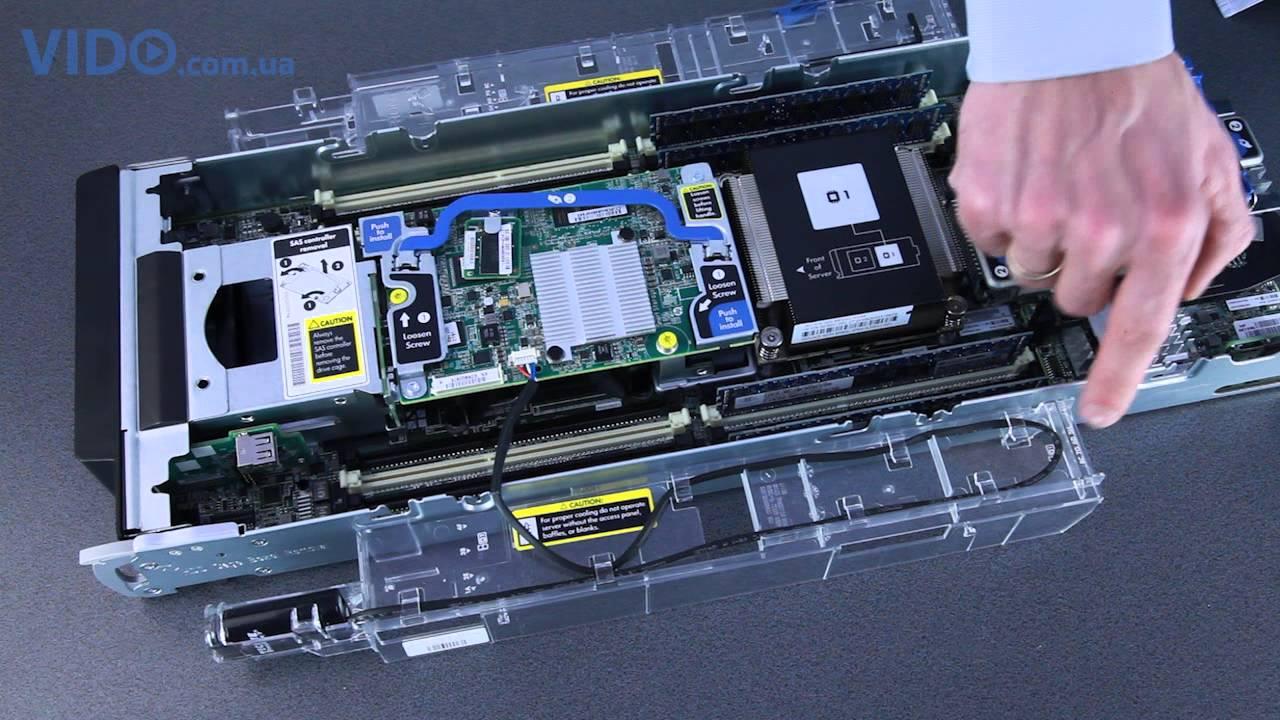 Hp proliant bl460c gen9 server blade.