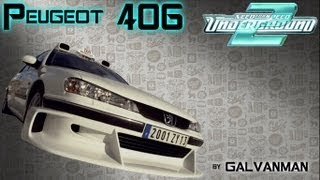 "Peugeot 406 с фильма ""Такси"" для NFS Underground 2 (DOWNLOAD)"