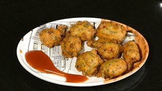 कांदा भजी | Kanda bhaji |Crispy Onion Pakoda | How to make Kanda Bhaji | FOOD & TRAVEL TV