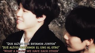 Yoonmin (Análise|Análisis|Analysis) Yoonmin poems - What a relief we have each other [PT/ESP/ENG]