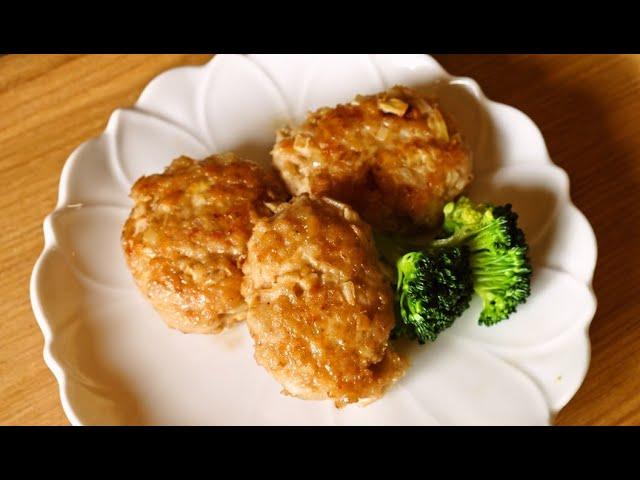 たけのこ入りふっくら鶏つくね【人気料理研究家が教える!今日使える簡単レシピ】