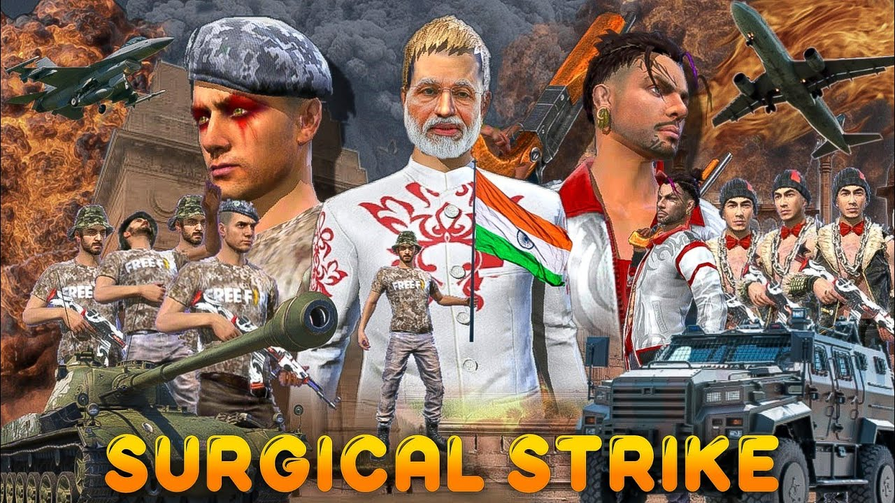 Surgical Strike [ सर्जिकल स्ट्राइक ] Free fire Short Emotional Story in Hindi || Free fire Story