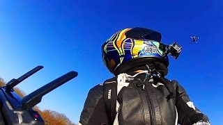 DJI MAVIC PRO Follows a Motorcycle thumbnail