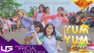 [KPOP IN PUBLIC CHALLENGE] I.O.I(아이오아이) _ Yum Yum(얌얌) Dance Cover by USG from Indonesia