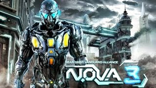 N.O.V.A. 3: Freedom Edition - Отличный 3D-шутер на Android(Обзор/Review)