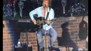 Bon Jovi - Living in sin (live / acoustic) - 17-06-2003