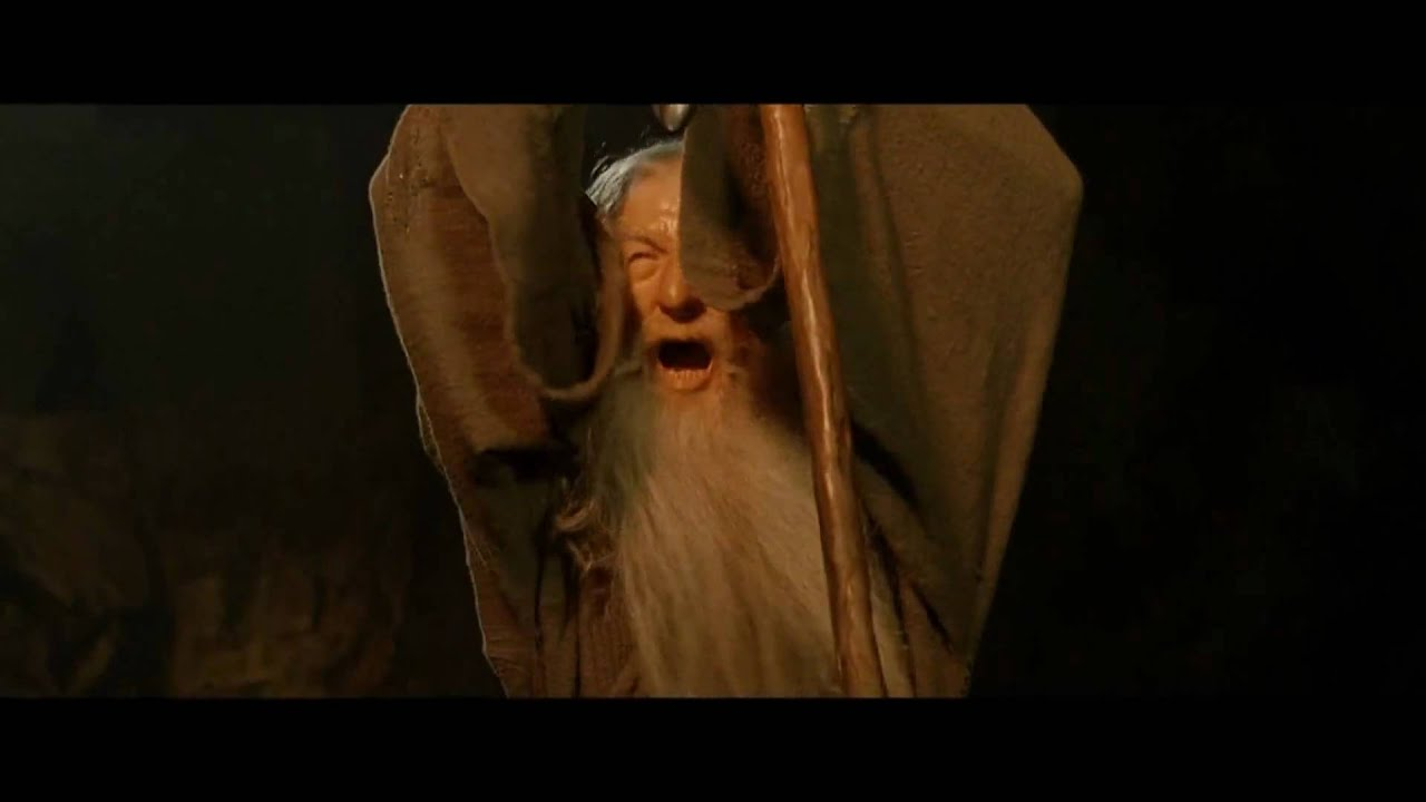 You Shall Not Pass Lord Of The Rings Video