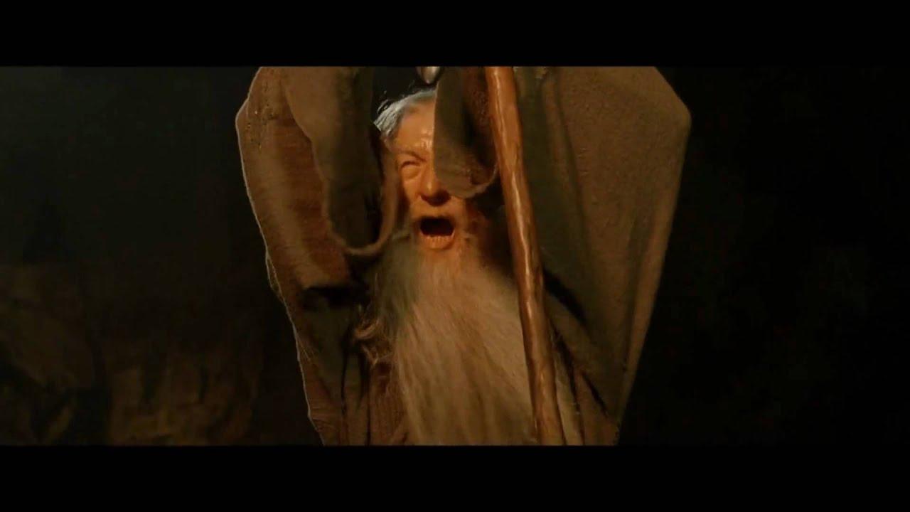 Shall Not Pass Gandolf Gandalf Wizard You Shall Not Pass Sticker