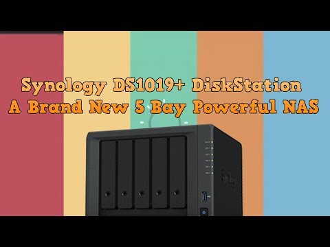 Synology DS1019+ A Brand New 5 Bay Powerful NAS