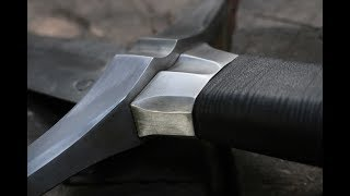 Forging a pattern welded Witcher 3 inspired sword, the complete movie.