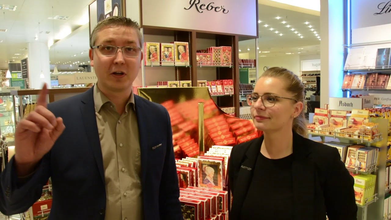 c825aedd3c0ff Süße Edelmarken gleich neben den Schuhen: In der Galeria Kaufhof gibt´s nun  ein kleines Schokoladenparadies – MIT FOTOS UND VIDEO!