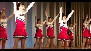 県立広島商業高校応援部@Chushikoku Cheerleader 2018 Spring
