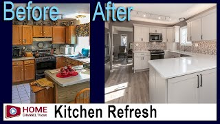 Kitchen Remodel Before and After | Kitchen Design by KLM Kitchens Baths Floors