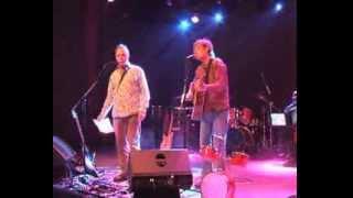 de popmuzikant- Bob Fosko en Bert Beenen