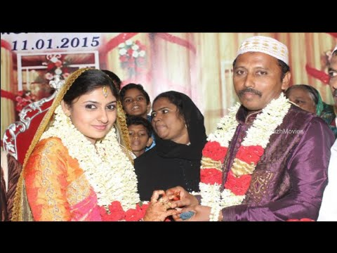 Actress Monica a.k.a Raheema Marriage Pictures