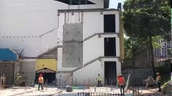 Installation of precast wall panels