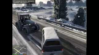 GTA 5 gameplay on nvidia gt 610 2gb 4gb ram intel Xeon 2.66 Ghz Quad core  (Part 1)