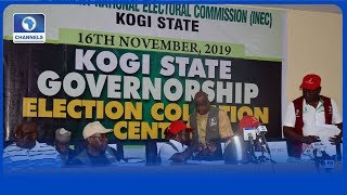Kogi State Governorship Election Result Collation Pt.1